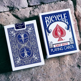 Bicycle Glory Gaff Deck Blue