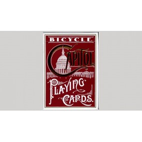 Bicycle Capitol Red